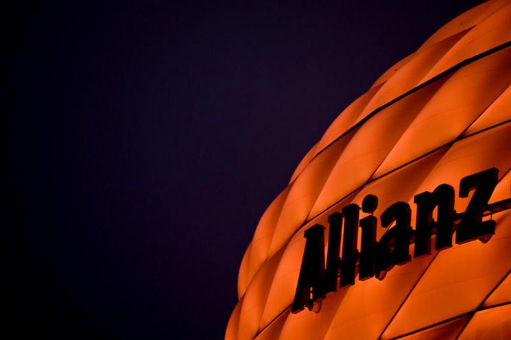 Current Events | Orange the World: Allianz Arena in Munich on the International Day against Violence against Women, 2020 - by Catherina Hess 02972251