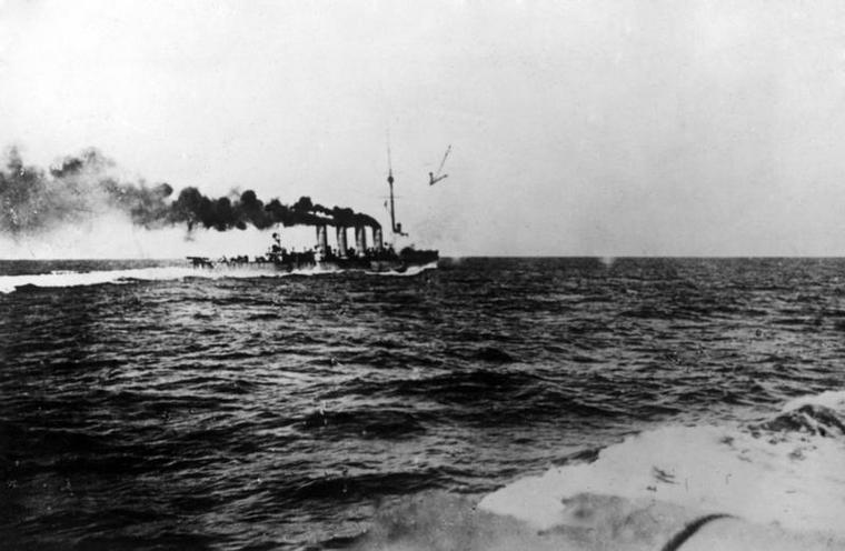 History | World War I | First World War: Austro-Hungarian Navy operating in the Mediterranean Sea 00472287