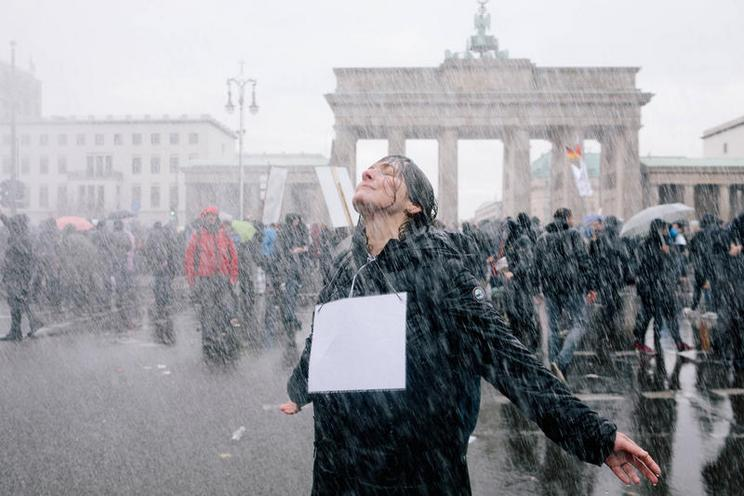 Current Events | #b1811 protests against Infection Protection Act in Berlin, 2020 - by Michael Trammer 02968688