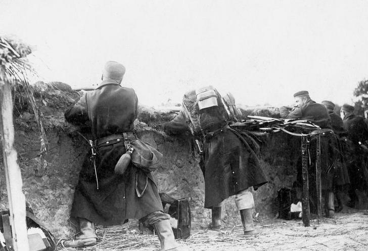 Contemporary | Albania, Greece and Macedonia during First World War | Belgian troops at the western front in World War I | 02100236