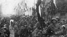 The Homecoming of the german front troops 1918-1919
