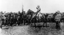 Bulgarian troops during First World War
