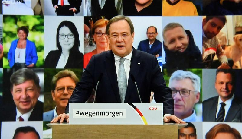 Current Events | CDU party convention, 2021 - by Sepp Spiegl 02987343