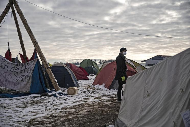 Current Events | Protest Camp at Dannenröder Forst in January, 2021 - by Hannes P. Albert 02985148