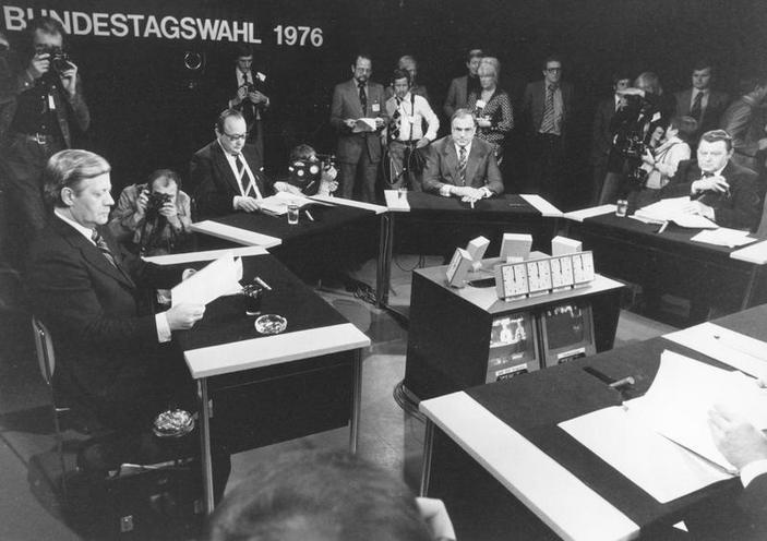 Contemporary | SPD Unification party conference 28.09.1990 | Eight German Bundestag election campaign 1976 | 00318386