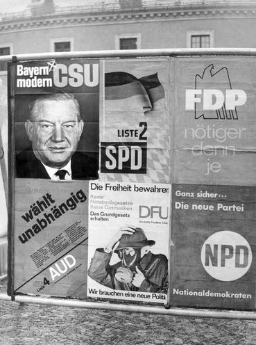 Contemporary | FDP - unification party conference in Hannover 11.08.1990 | Fifth German Bundestag election campaign 1965 | 00318281