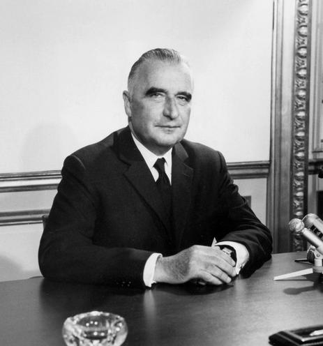 Personalities | Politicians France | Georges Pompidou |  01921695