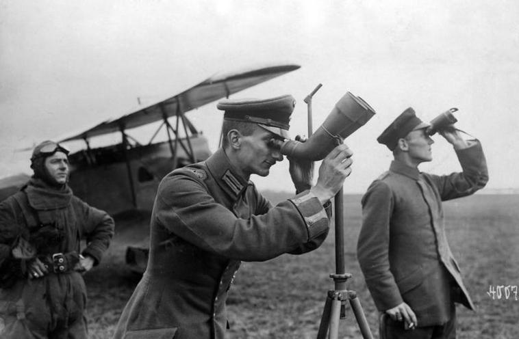 Contemporary | World War I | German aerobase during the FIrst World War, 1918 | 00472645