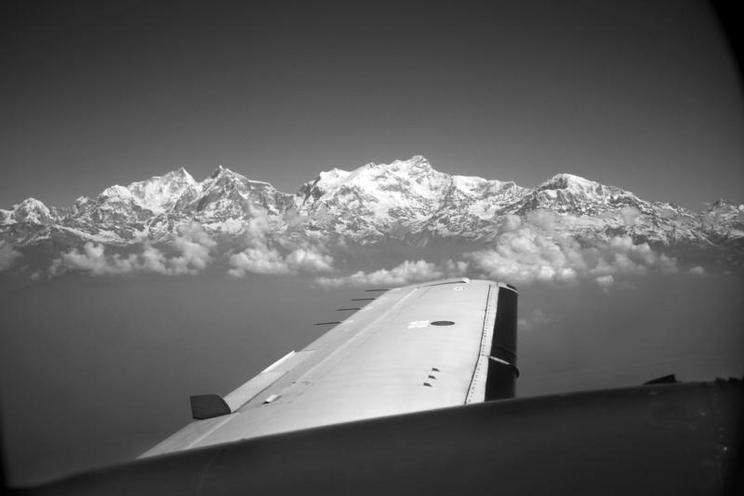 Places | Portugal | Himalaya-Mountains from the aircraft, Nepal, 2013 | 01081266