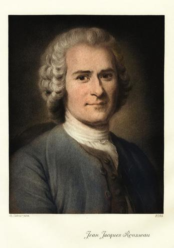 Personalities | Scientists, philosophers & pioneers | Jean-Jacques Rousseau 00033719