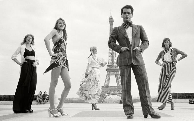 History | The 1970s | Karl Lagerfeld - Photo Story by Max Scheler 1972 01066981