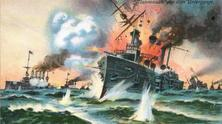 battle of Coronal and battle near the Falklands 1914