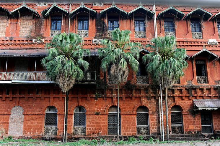 Places | London | MYANMAR. Yangon. 2013. Colonial Railway building | 02290867