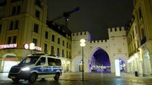 Night curfew in Munich in the corona-crisis, 2020 - by Stephan Rumpf