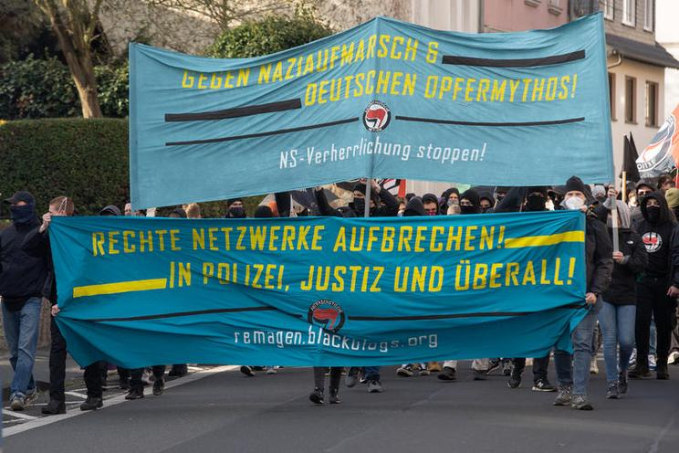 Current Events | Neo-Nazi march & protest in Remagen, 2020 - by Björn Kietzmann 02965284
