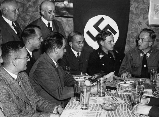 History | Nazism 1934-1945 | Nazi Germany: Nazi party functionaries and members 00362757