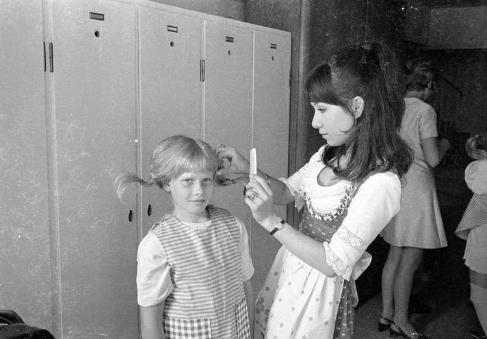 "History | The 1970s | ""Pippi Longstocking"" lookalike-contest - Photo story by Alfred Strobel, 1970 02280704"