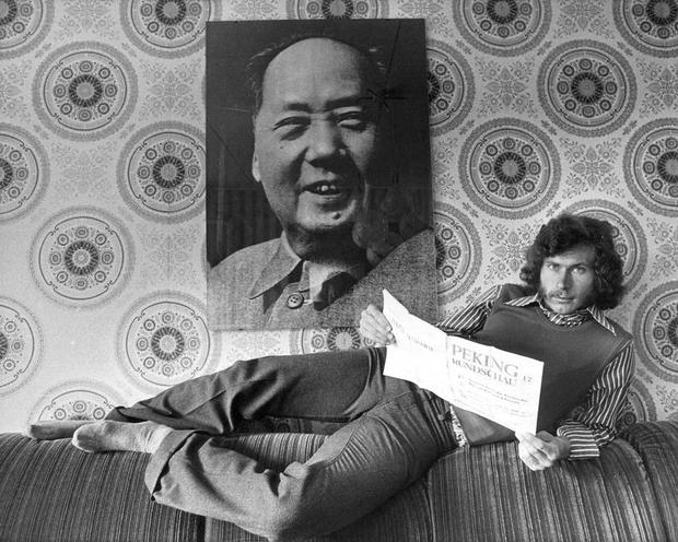 Personalities | Richard von Weizsaecker | Paul Breitner, 1973 | 00005266
