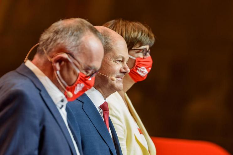 Current Events | Presentation of Olaf Scholz as candidate for chancellor of the SPD in Berlin, 2020 02921903