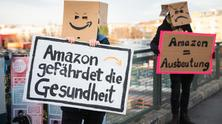 Protest against Amazon, Berlin, 2020 - by Christian Mang and Florian Boillot