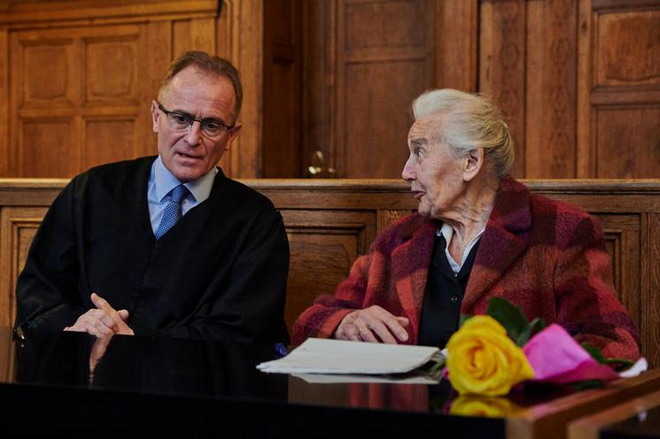Current Events | Trial opening against Holocaust denier Ursula Haverbeck in Berlin - by Florian Boillot 02966706