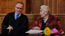 Trial opening against Holocaust denier Ursula Haverbeck in Berlin - by Florian Boillot