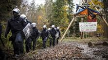 Eviction and clearing of im Dannenröd Forest, 2020 - by Jannis Grosse