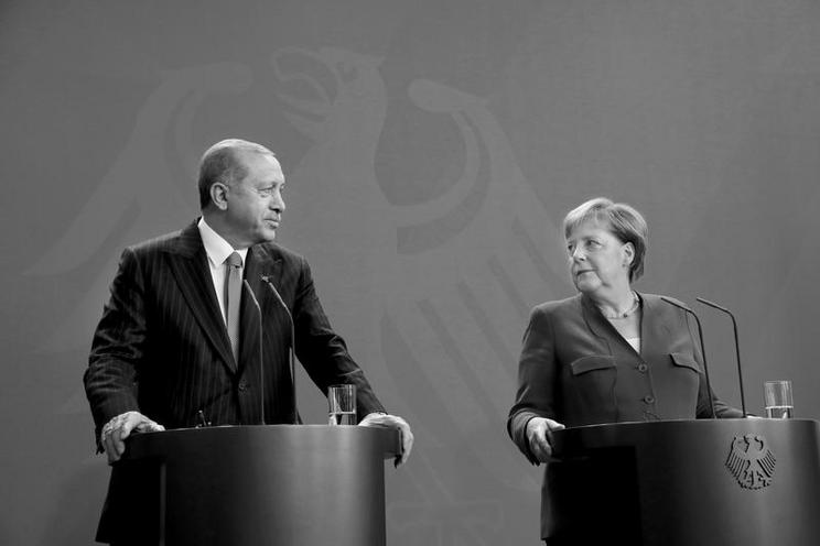 Personalities | Politics and Society - Regina Schmeken | Recep Tayyip Erdogan on state visit in Germany, 2018 - by Regina Schmeken 02584399