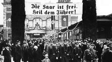 Referendum and reunion of Saar with Germany 1935