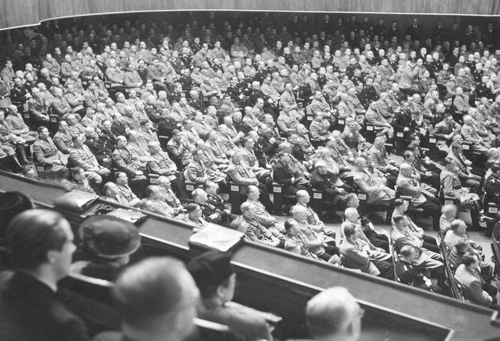 History | Nazism 1934-1945 | First Session of the Greater German Reichstag 1938 00297332