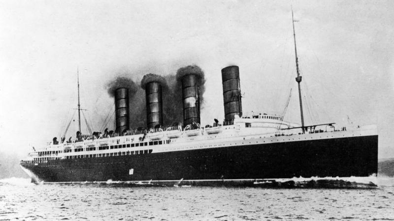 Contemporary | Outbreak of war of the austro-hungarian army 1914 | RMS Lusitania | 00472351