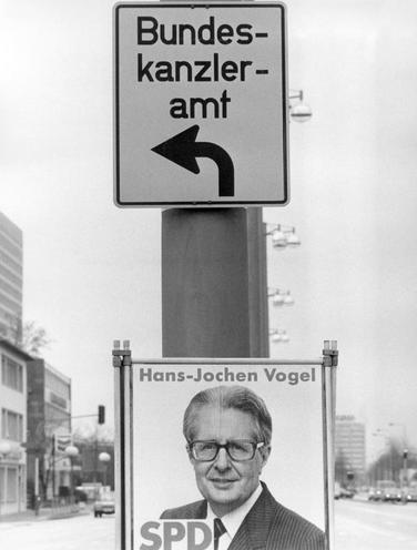 Contemporary | Schumanplan und Montanunion | SPD election campaign poster, 1983 | 00318475