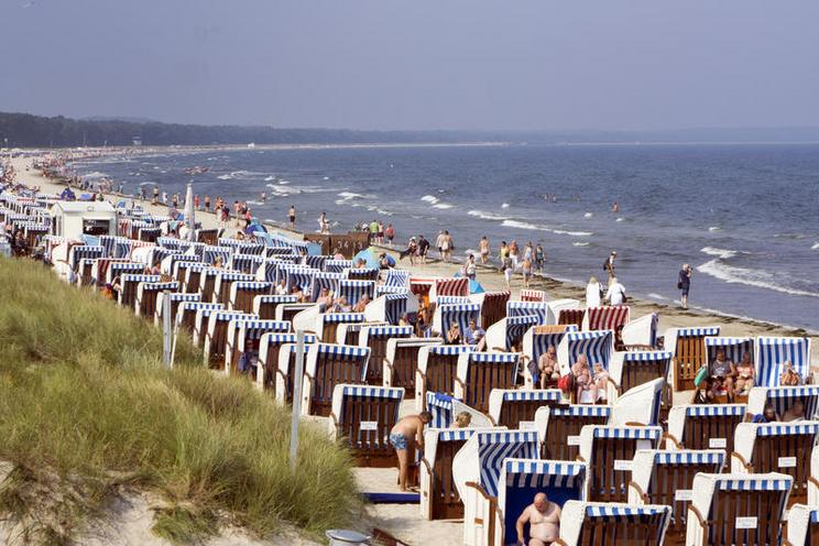 Places | Bavaria | Strand in Binz - Insel Ruegen | 02396961