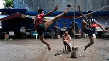 The Game of Takraw  - pictures by Olaf Schuelke, 2013