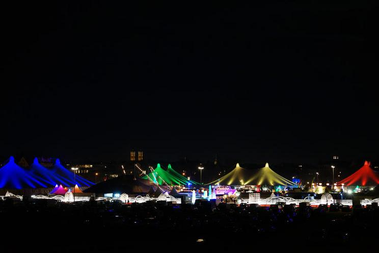 Places | Munich | Tollwood Winterfestival in Munich, 2015 02318503