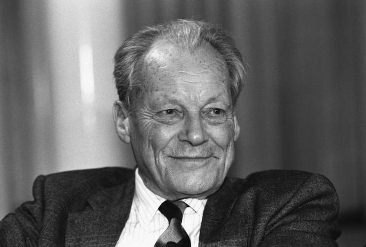 Personalities | German Chancellors | Willy Brandt |  01795151