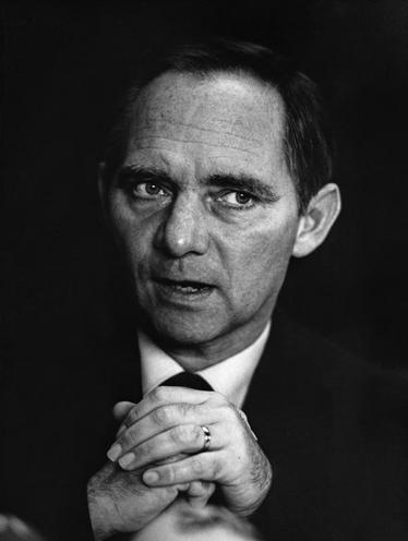 Personalities | German Politicians | Wolfgang Schaeuble 00566072