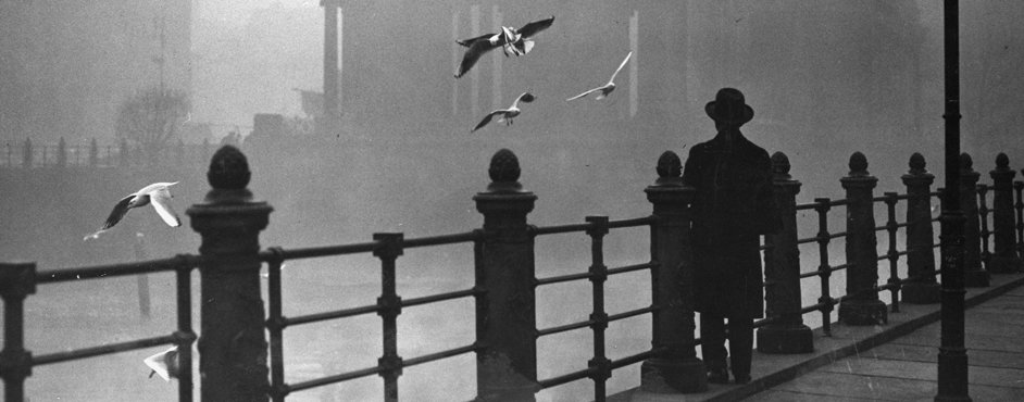 Berlin in the mist, 1934