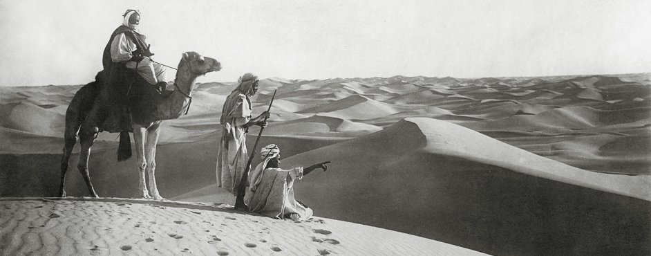Tuareg in the Algerian Sahara, 1925