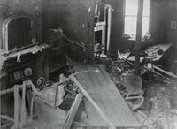 Bomb damage at St Leonards, Poplar, 1916. Science Museum/SSPL/Süddeutsche Zeitung Photo