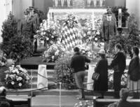 Burial of Franz Josef Strauss in Munich, 1988 amw/Süddeutsche Zeitung Photo