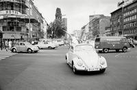 Cars with protesters in Berlin, 1967 Max Scheler/Süddeutsche Zeitung Photo