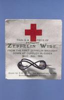 Red Cross fund-raising brooch made from Zeppelin wire, 1917. Science Museum/SSPL/Süddeutsche Zeitung Photo