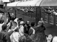 Wave of refugees 1989 - special train from the CSSR amw/Süddeutsche Zeitung Photo
